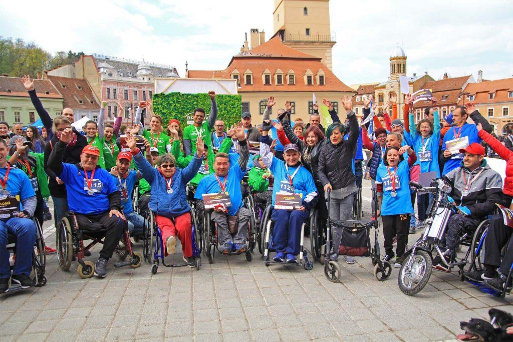 Brasov Marathon 2019 - Cursa persoanelor cu dizabilitati