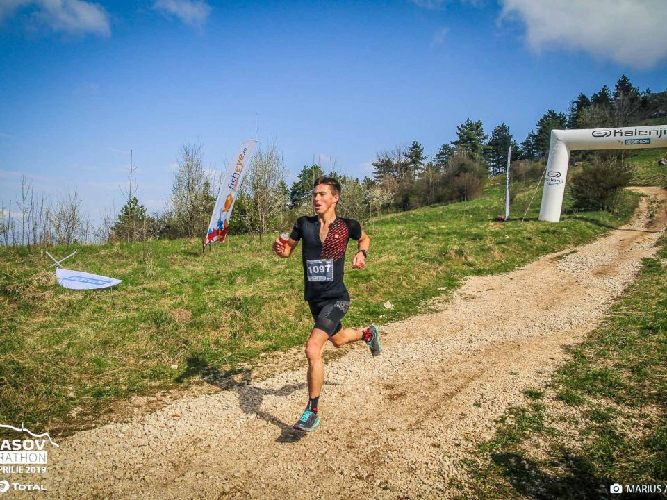 Bogdan Damian la Brasov Marathon